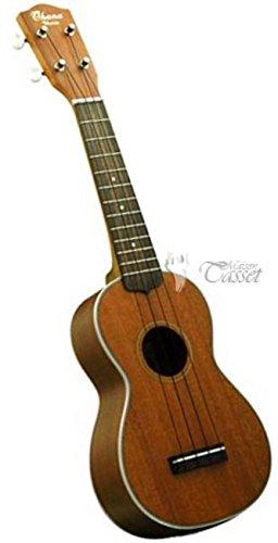Ohana Soprano Ukulele Solid Mahogany Top, with Mahogany Back & Sides SK-20S