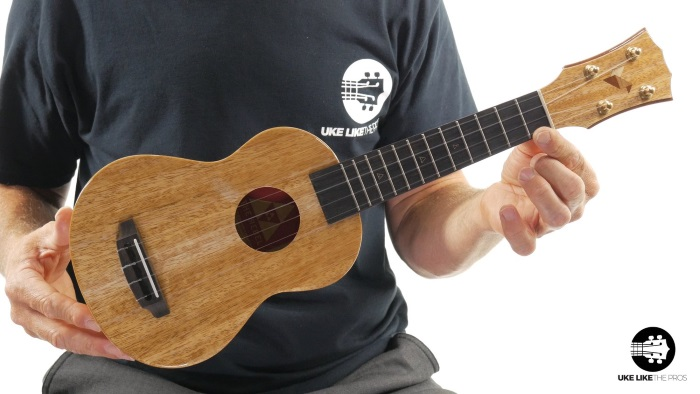 Rebel Double Creme Soprano Ukulele
