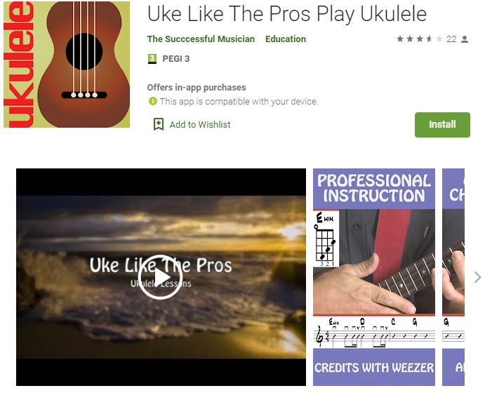 best app to learn ukulele