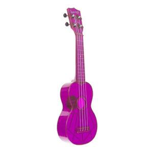 KALA Waterman Fluorescent Purple Grape Soprano Ukulele