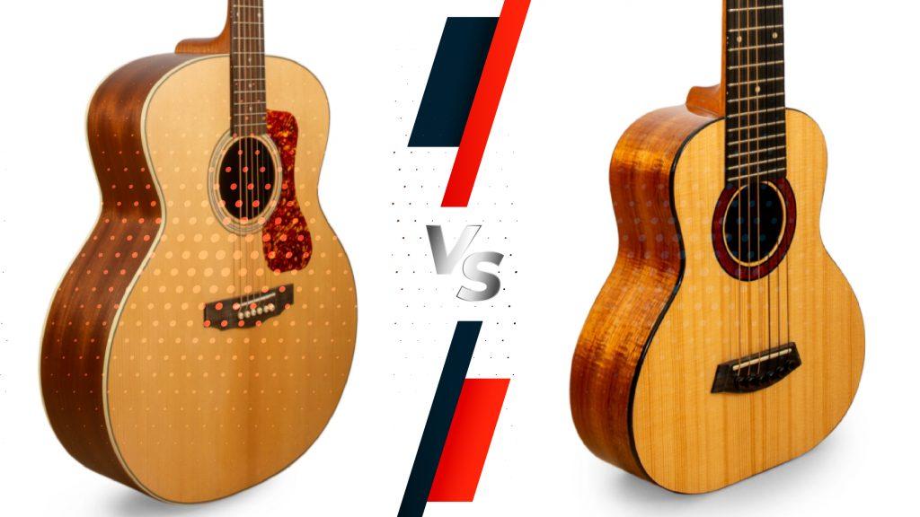Guitar vs Guitarlele